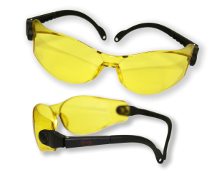 Yellow tinted glasses may help those with visual snow